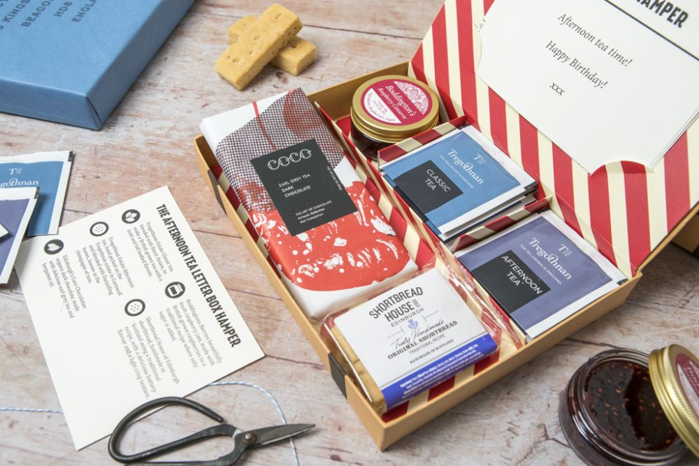 Afternoon Tea Hamper - with British grown Tea