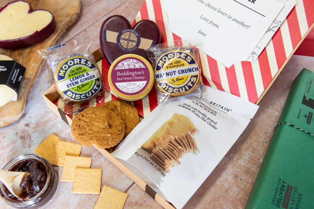 Cheese and Biscuits by Post Letter Box Hamper