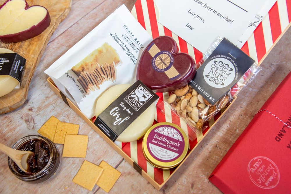 Cheese Lovers Letter Box Hamper
