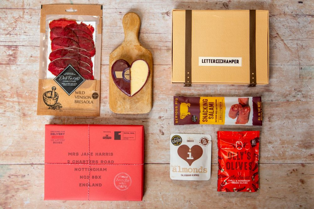 3 month Foodie Letter Box Hamper subscription