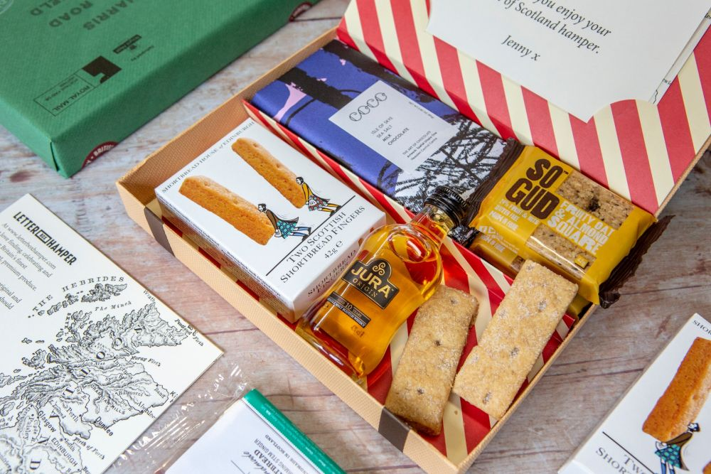 Best of Scotland Hamper - with Single Malt Whisky
